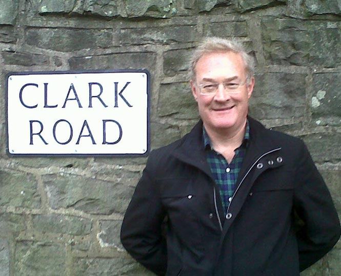 twentieth century art writer and commentator Adrian Clark