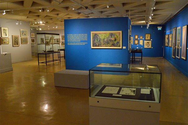 Museum in Dorchester John Craxton exhibition